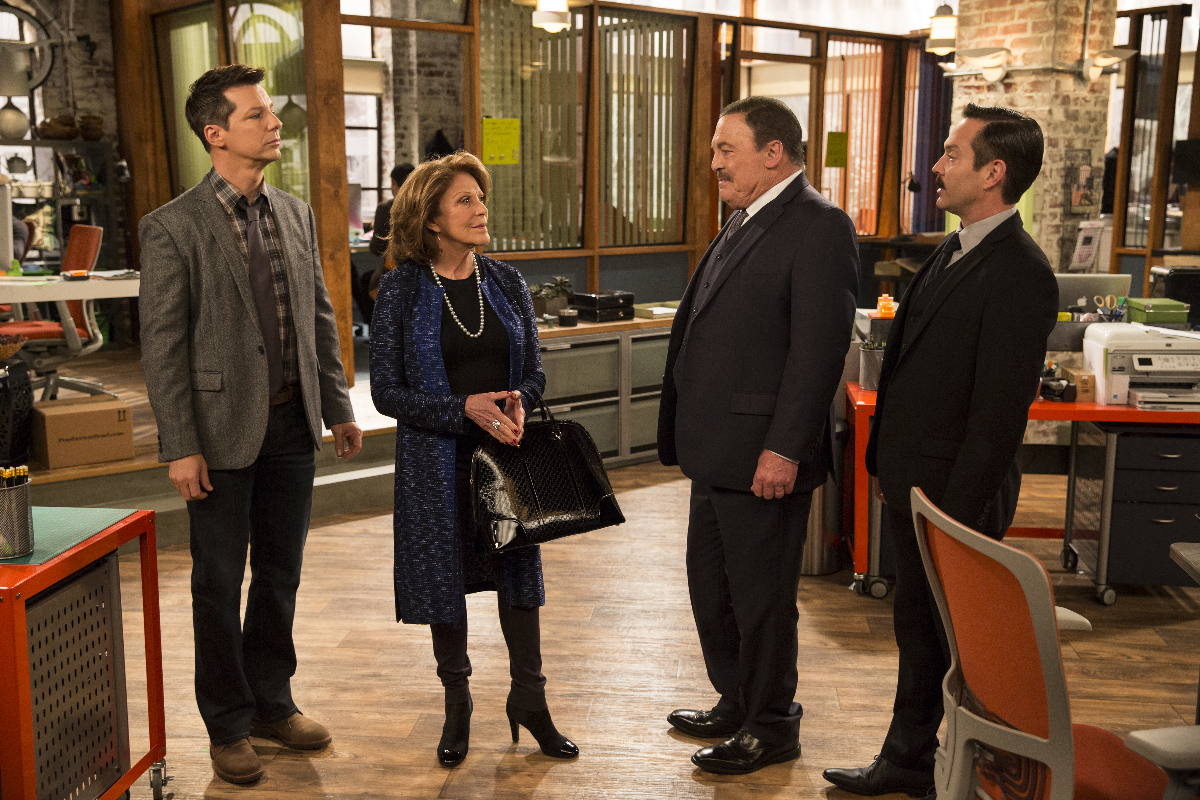 "SEAN SAVES THE WORLD -- ""Trapped in the Closet"" Episode 111 -- Pictured: (l-r)  -- (Photo by: Justin Lubin/NBC)"