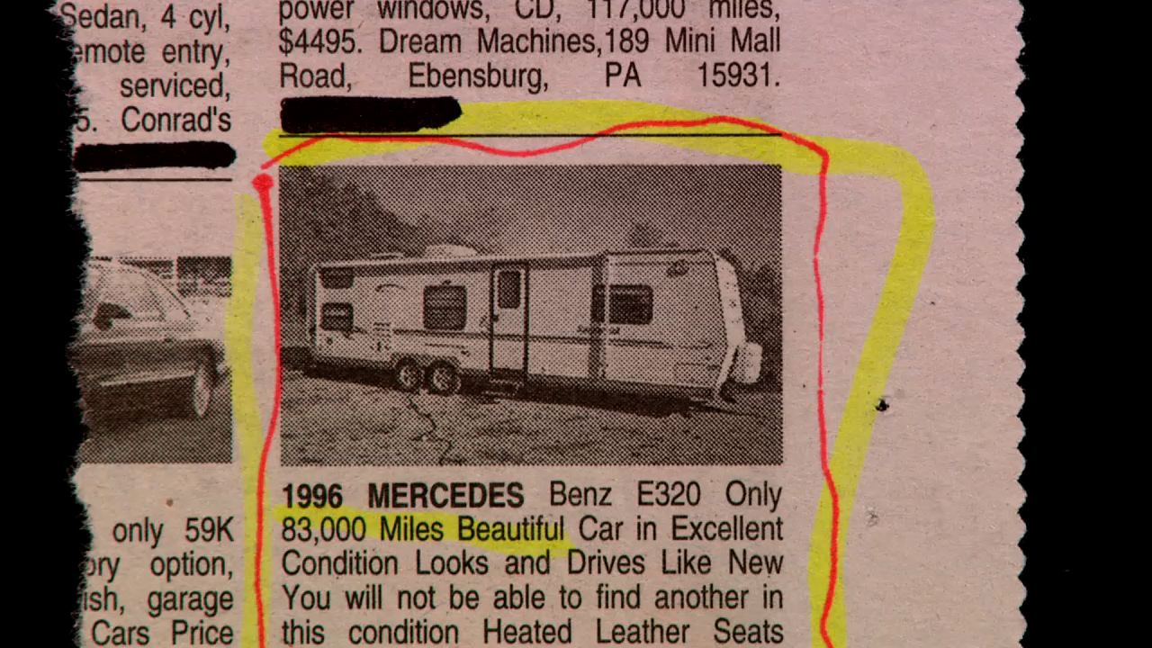 Check out this 1996 model. Not familiar with this Mercedes.