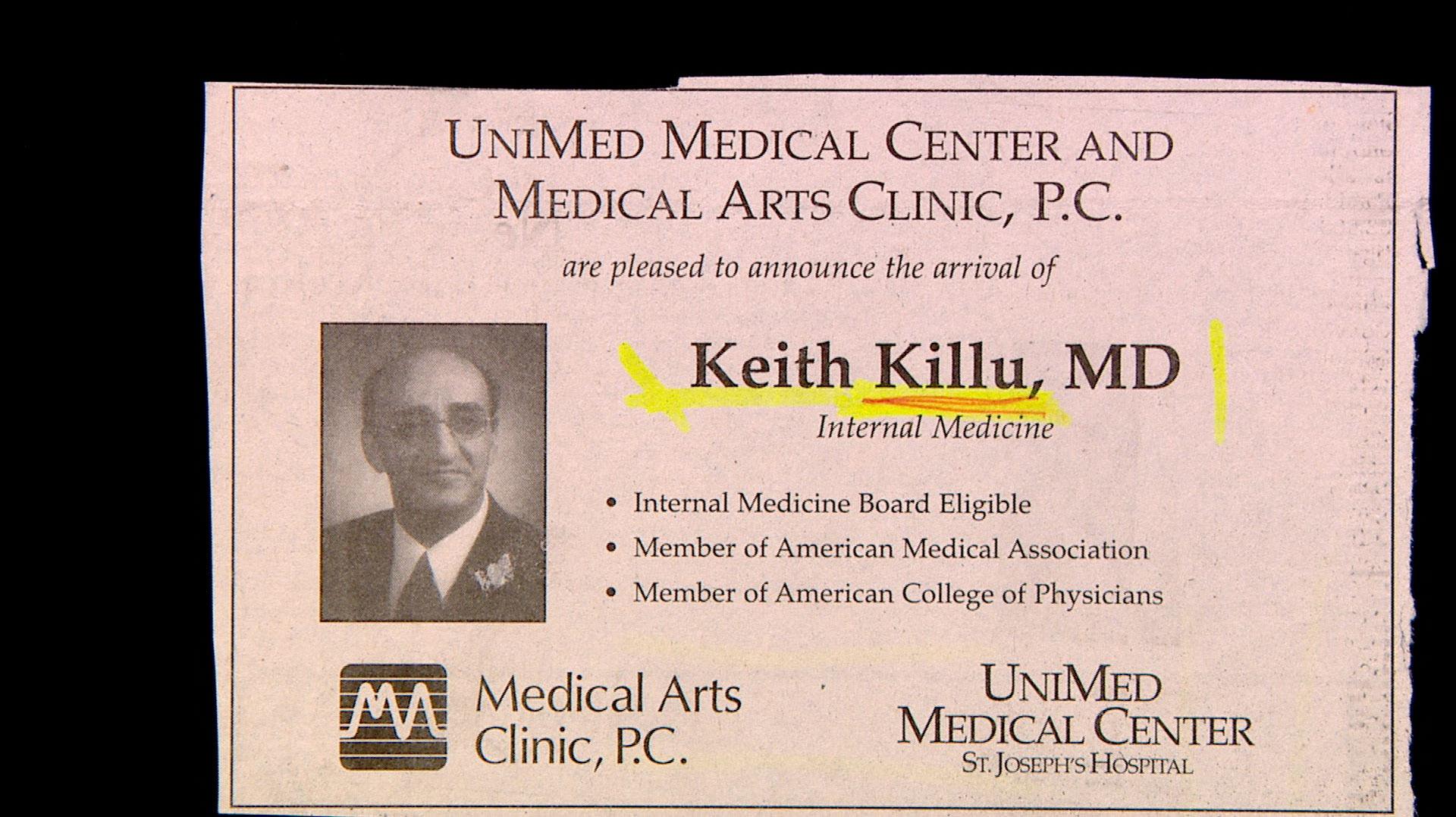 Dr. Keith Killu