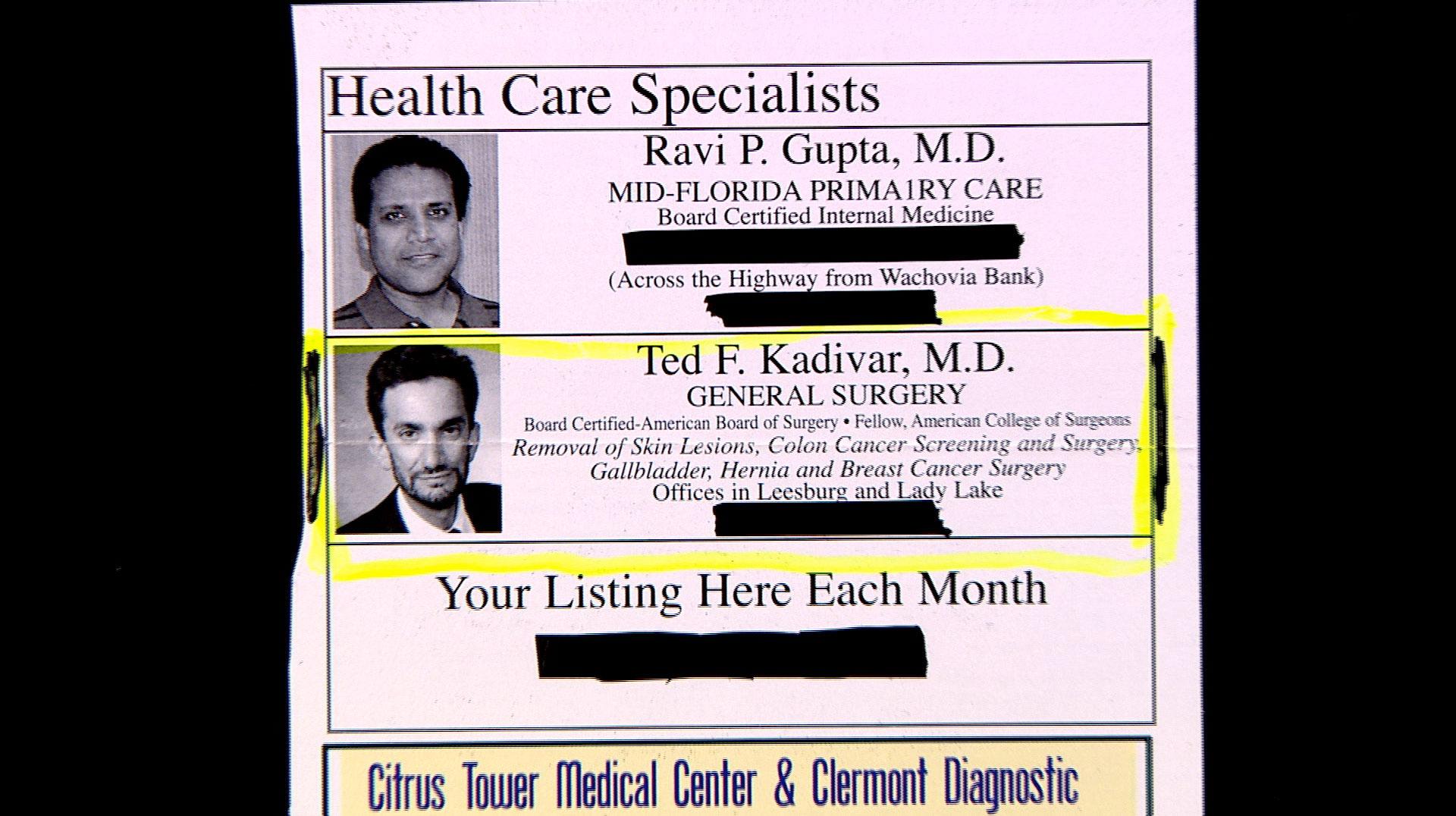 Dr. Ted Kadivar