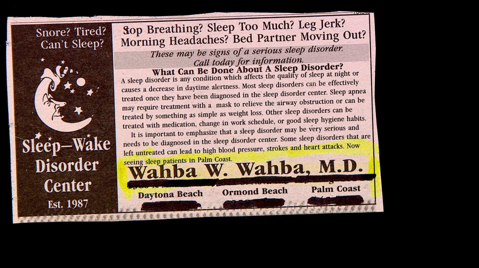 Dr. Wahba W. Wahba