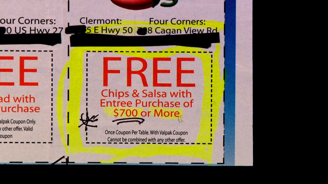 If you love Chili's you'll love this deal. Free chips and salsa with entree purchase of only $700 or more!