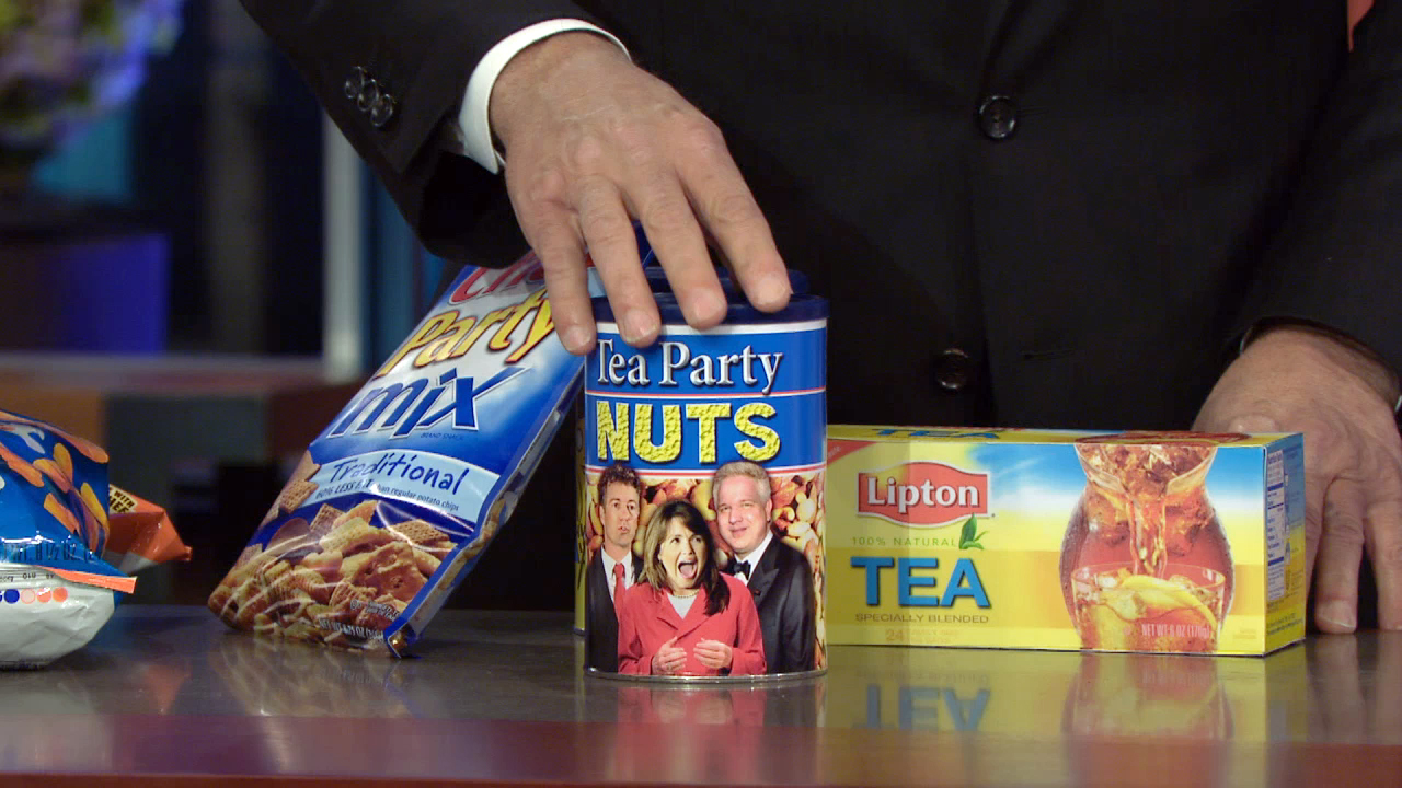 LIPTON TEA + PLANTERS NUTS + CHEX PARTY MIX = TEA PARTY NUTS