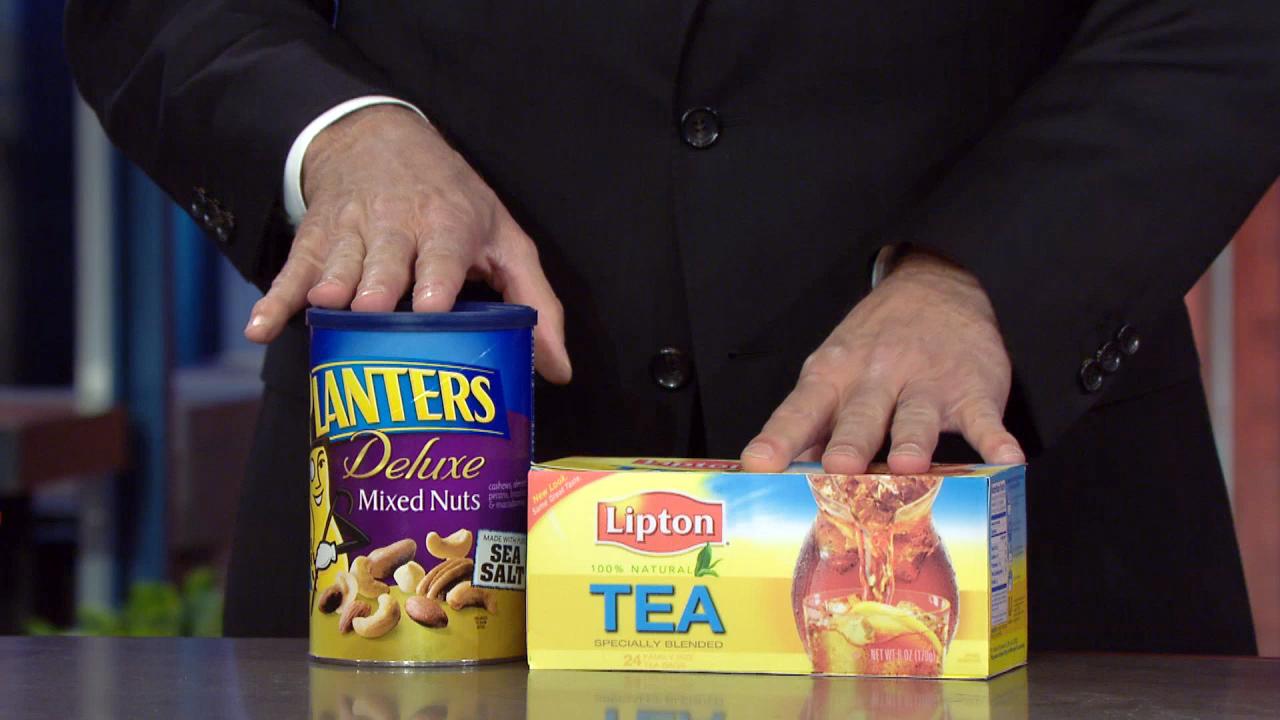 LIPTON TEA + PLANTERS NUTS