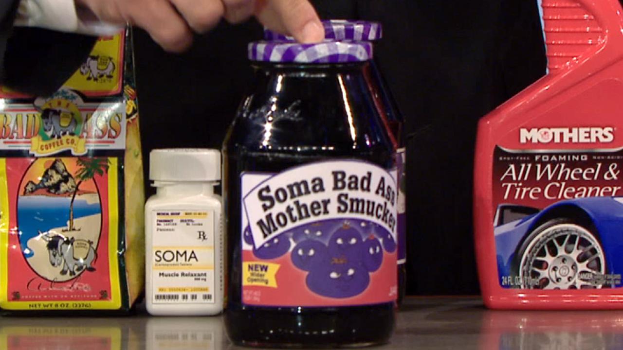 SOMA BAD ASS MOTHER SMUCKER JAM