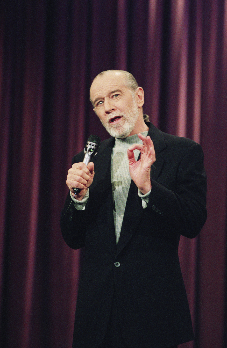 The Tonight Show with Jay Leno -- George Carlin