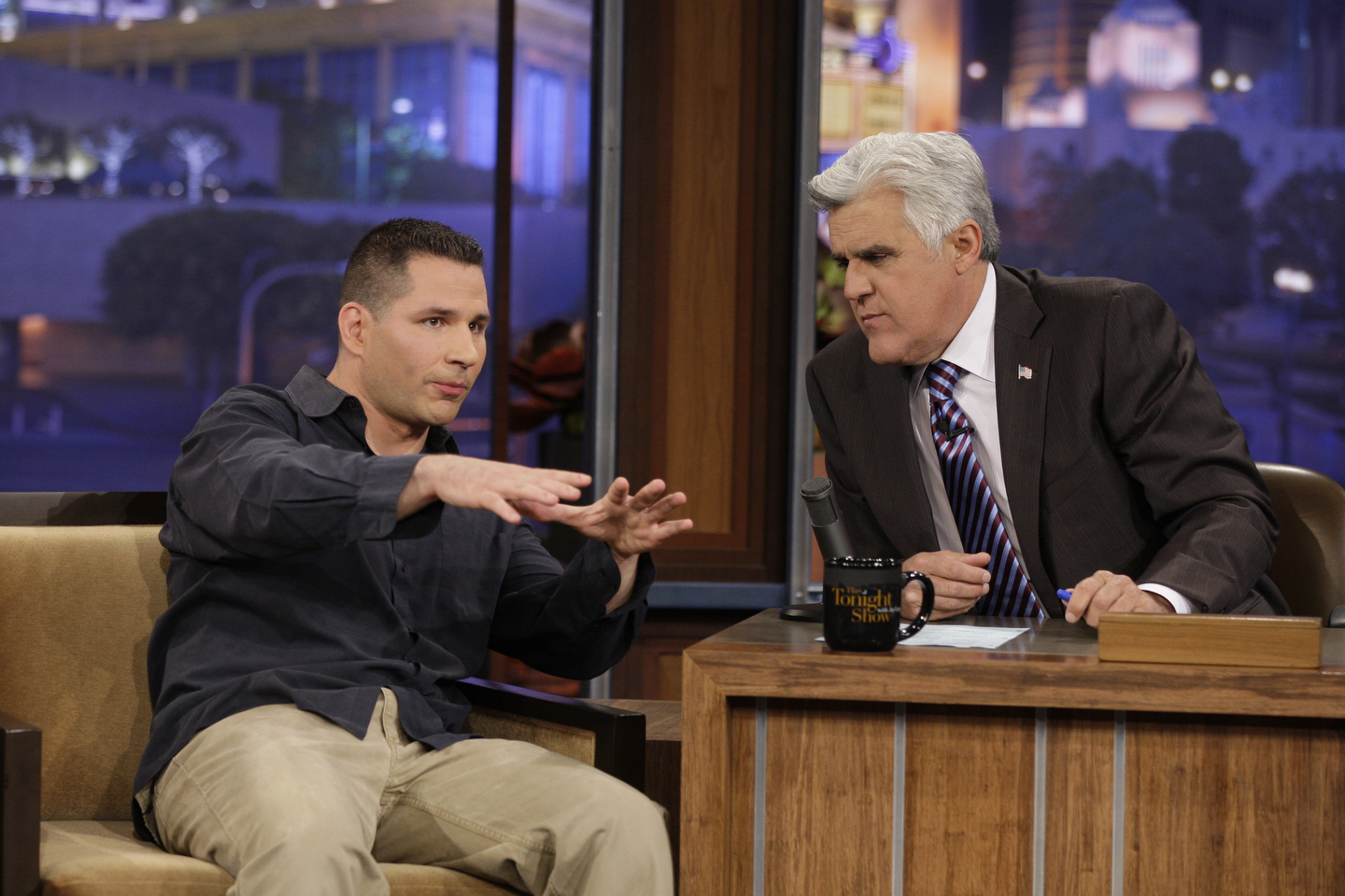 The Tonight Show with Jay LenoMike Vecchione