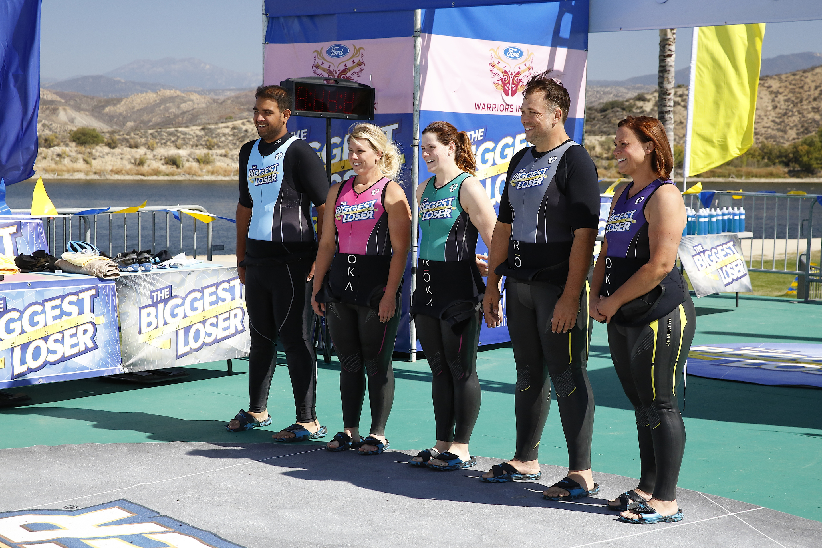 THE BIGGEST LOSER -- Episode 1514 -- Pictured: (l-r) -- (Photo by: Greg Gayne/NBC)