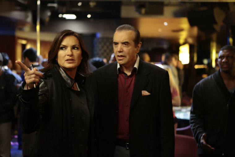 "LAW & ORDER: SPECIAL VICTIMS UNIT -- ""Jersey Breakdown"" Episode 1510 -- Pictured: (l-r)  -- (Photo by: Giovanni Rufino/NBC)"