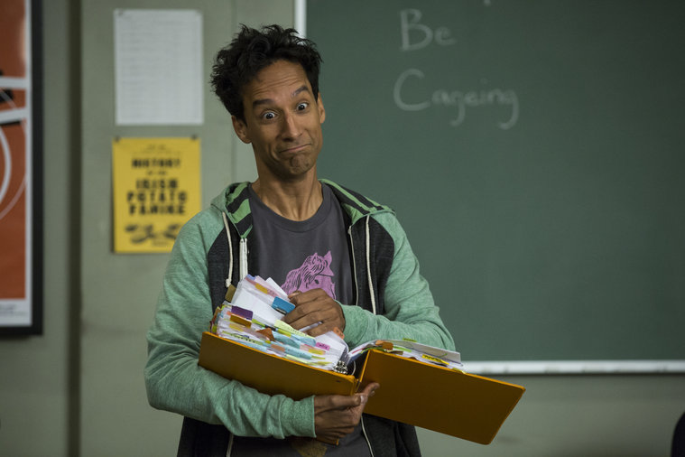 """Community -- """"Introduction to Teaching"""" -- Pictured: Danny Pudi as Abed"""