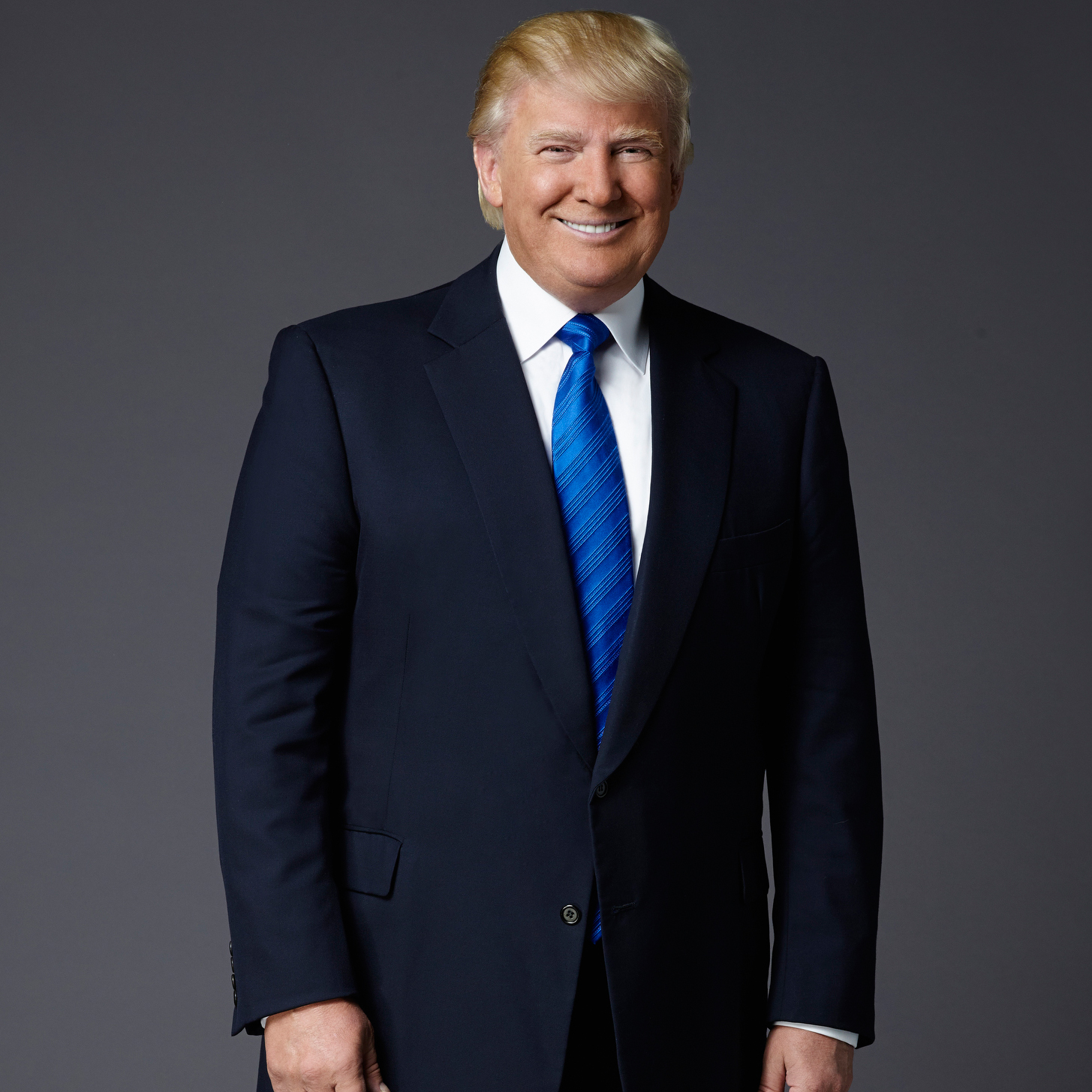 official photo and biography president trump