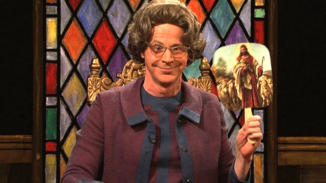 Watch Church Chat The Kardashians Snooki Justin Bieber From Saturday Night Live