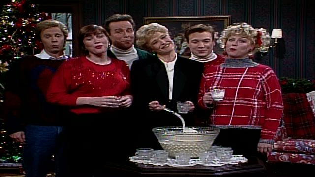 Saturday night live dysfunctional family christmas