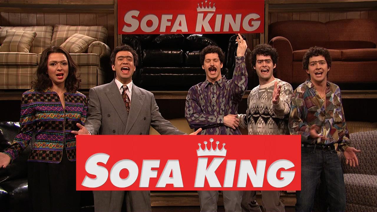 Sofa king snl Snl Episode Nbccom Watch Saturday Night Live Highlight Sofa King Nbccom