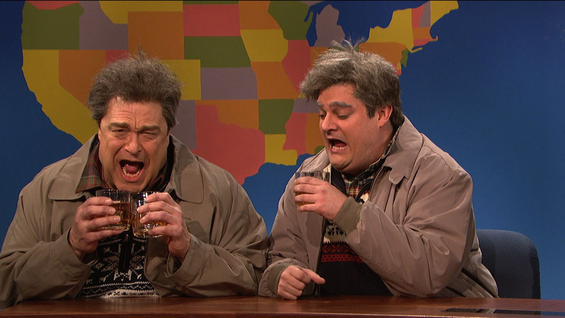 Watch Weekend Update Drunk Uncle And Drunker Uncle On Christmas From Saturday Night Live Nbc Com
