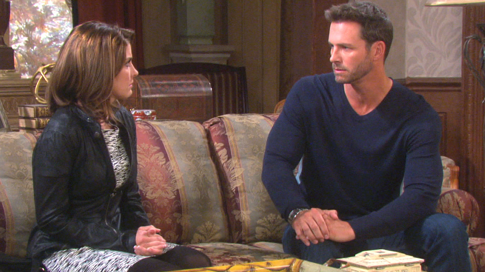 Days are lives monday 11 10 14 episodes days of our lives nbc for Where the rooms are a collection of our lives
