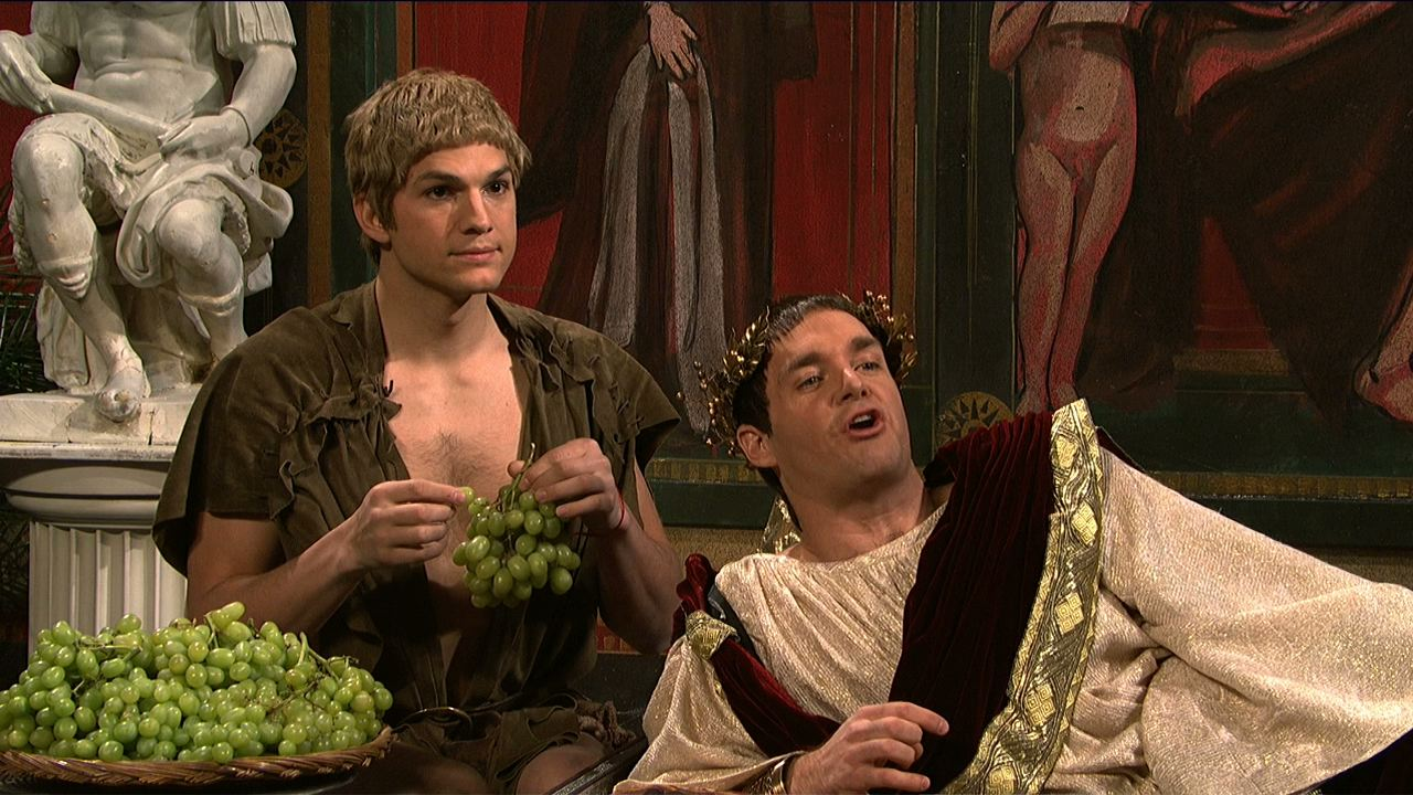 watch ancient rome emperor loves grapes from saturday