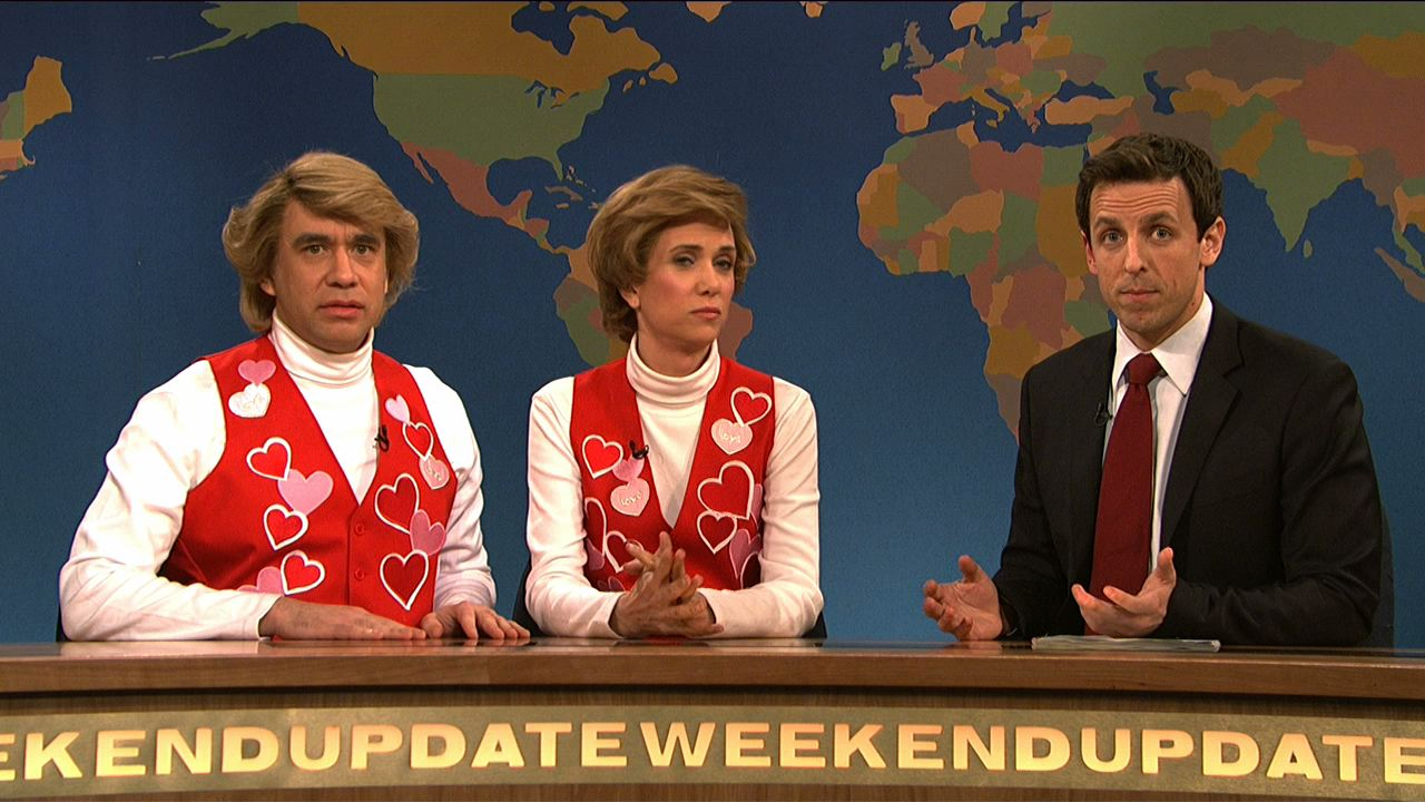 Watch Weekend Update: Garth and Kat Sing Valentine's Day Songs ...