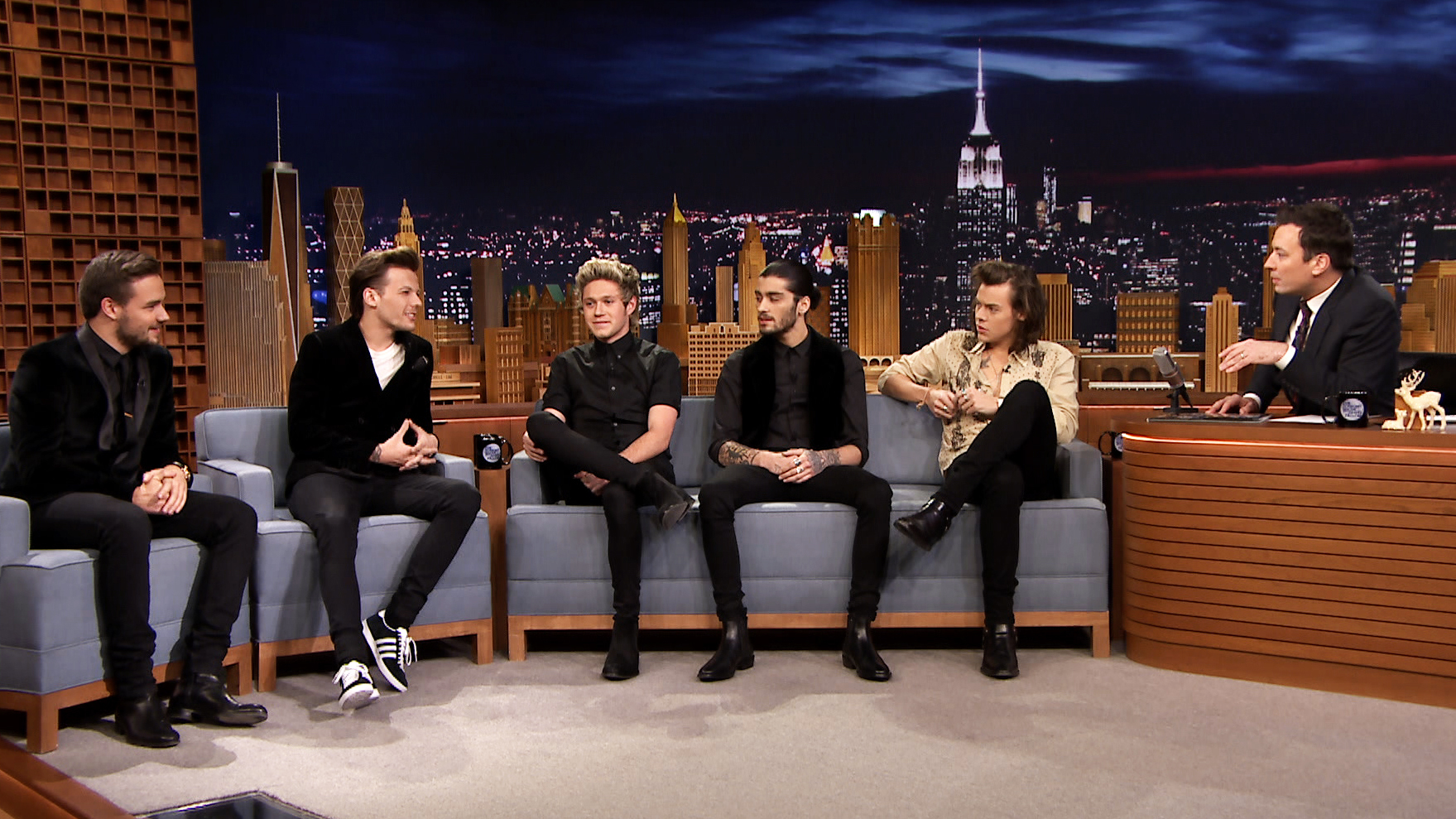 Watch The Tonight Show Starring Jimmy Fallon Interview: One ...