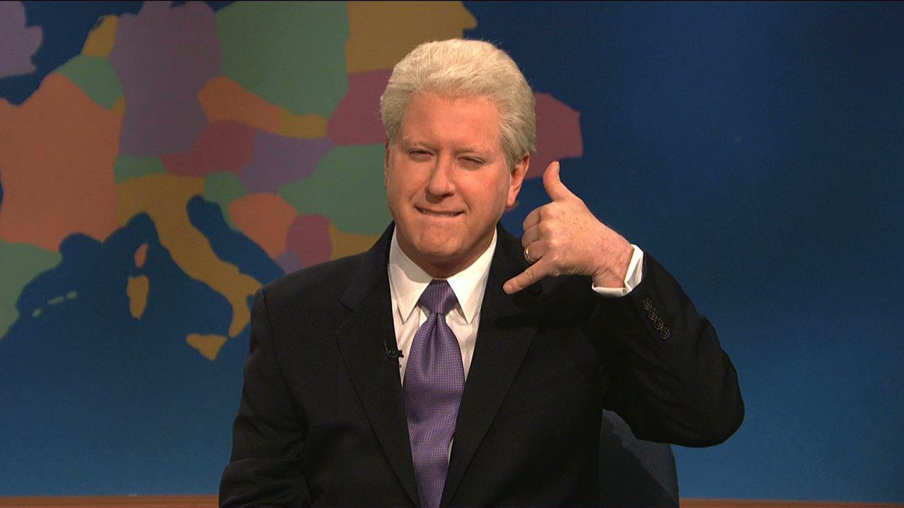 Watch Weekend Update Bill Clinton On Hillary As Secretary