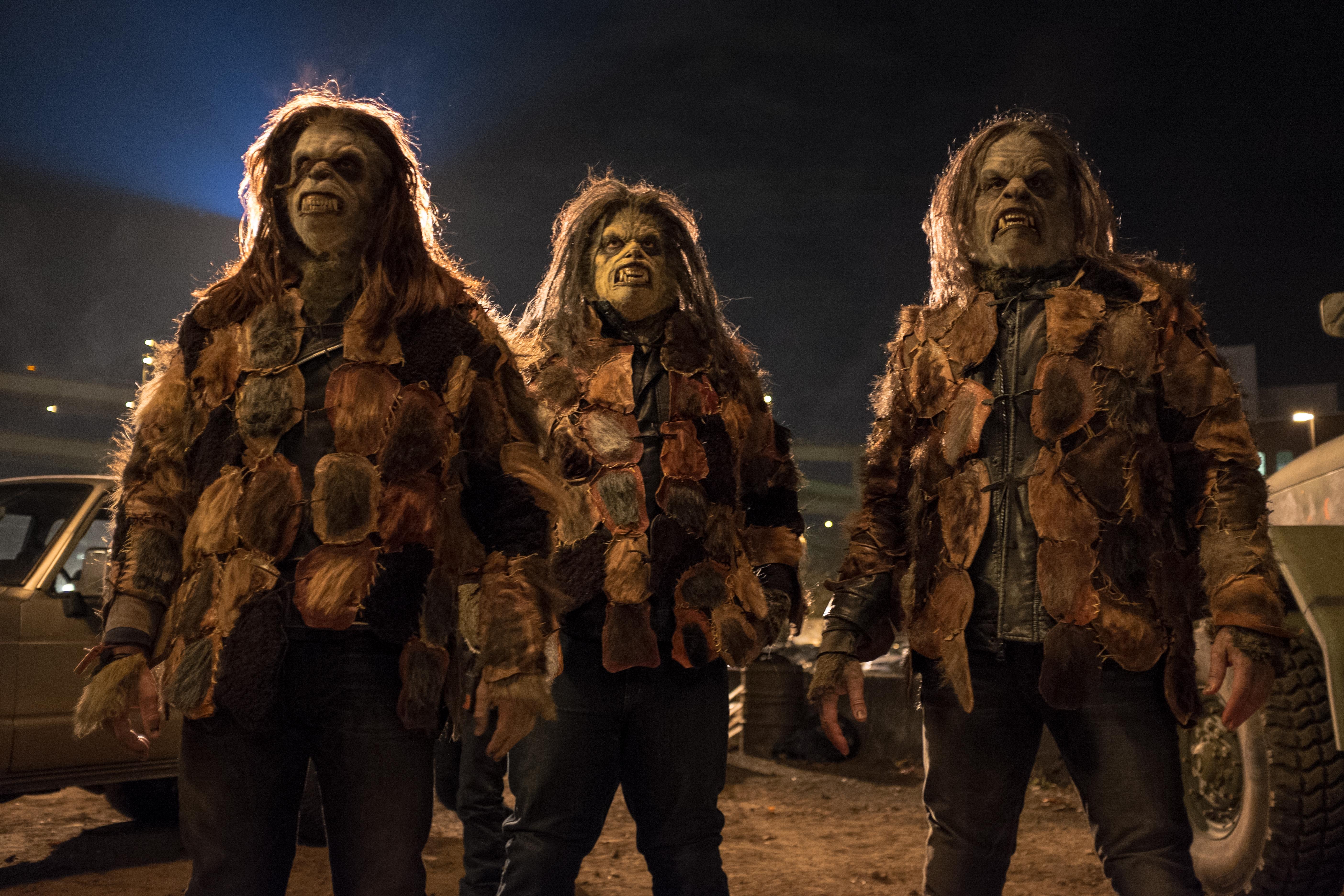 Grimm - Three menacing Wildesheers