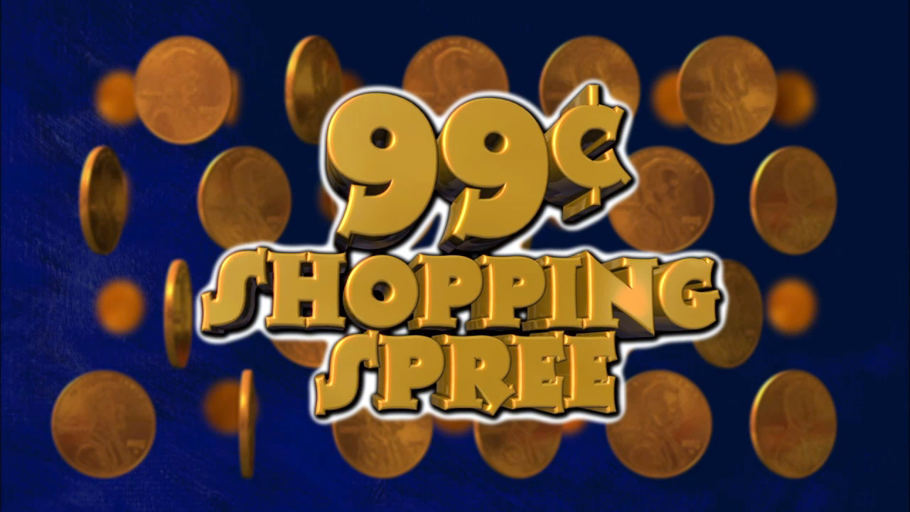 99¢ Shopping Spree