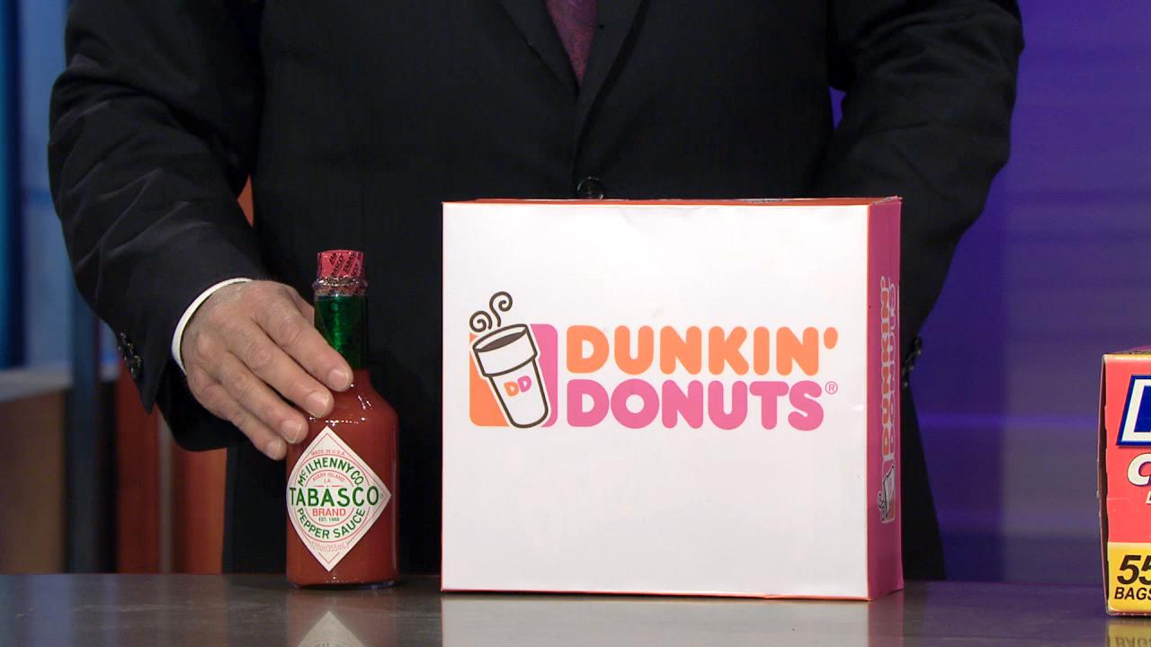 DUNKIN' DONUTS + TABASCO SAUCE