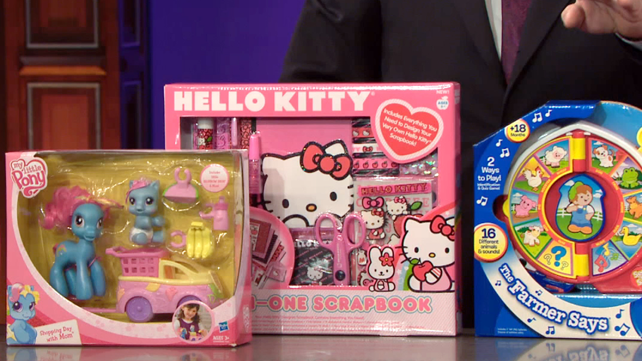 SEE 'N SAY + HELLO KITTY + MY LITTLE PONY