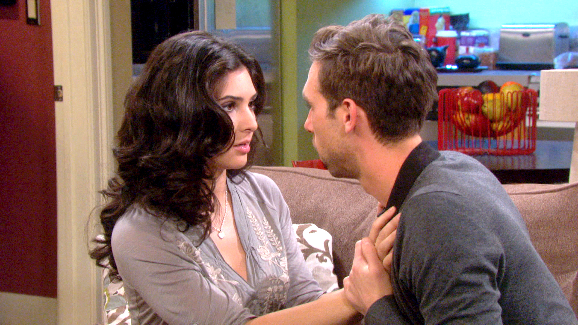 Things heat up for Nick and Gabi.