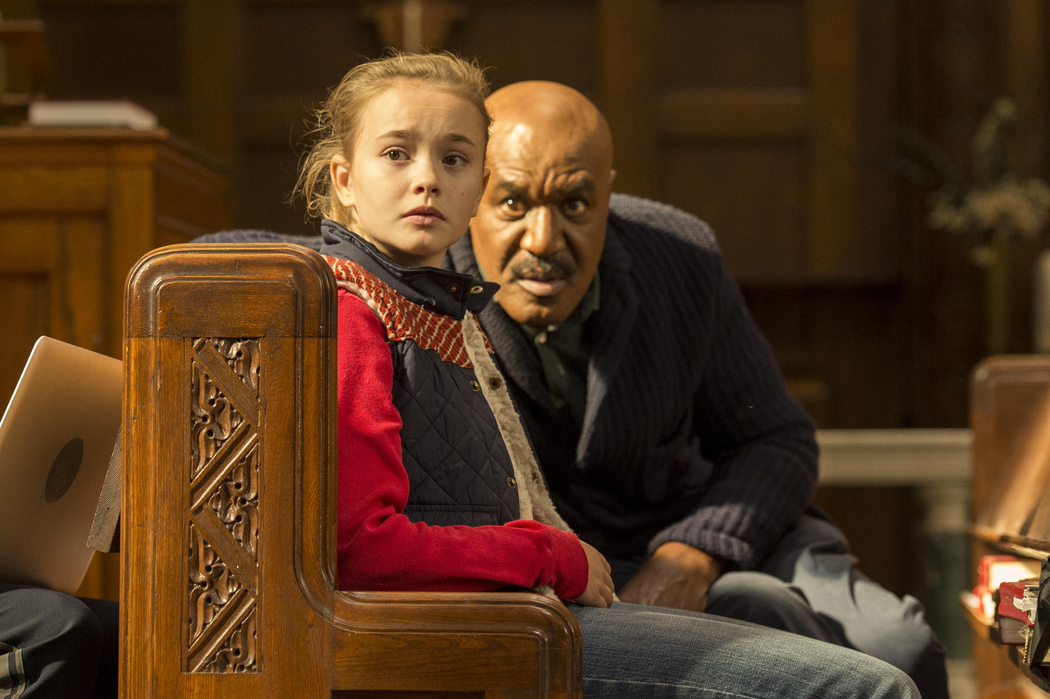Pictured: (l-r) Delroy Lindo as Winter, Johnny Sequoyah as Bo -- (Photo by: David Giesbrecht/NBC)