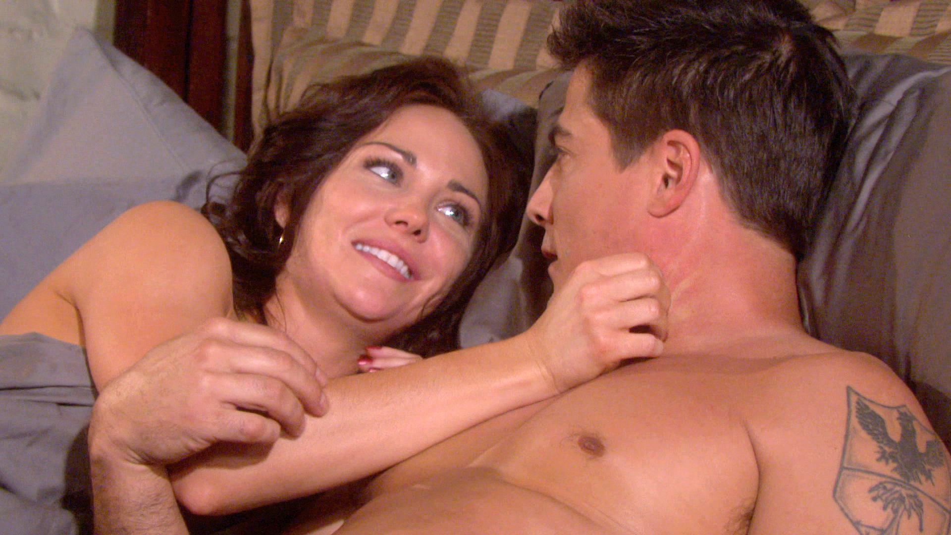 Lucas and Sheryl finally give in to their feelings.