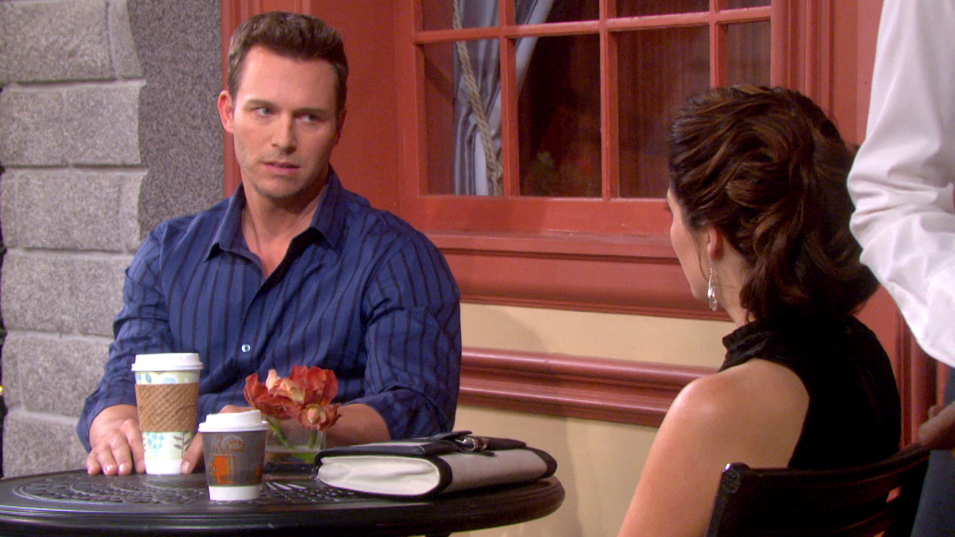 Brady tells Theresa he has to stop seeing her.