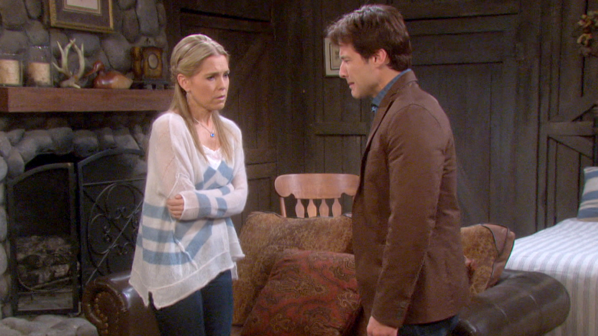 Jennifer learns why Liam cornered her at the cabin.