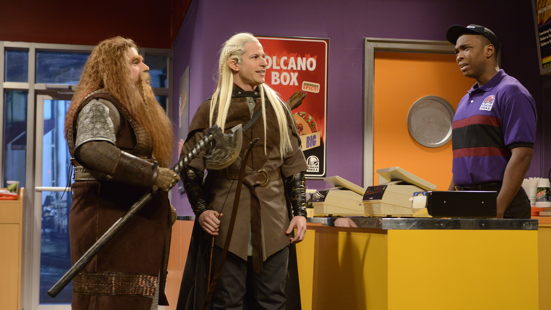 Watch Legolas At Taco Bell From Saturday Night Live Nbc Com
