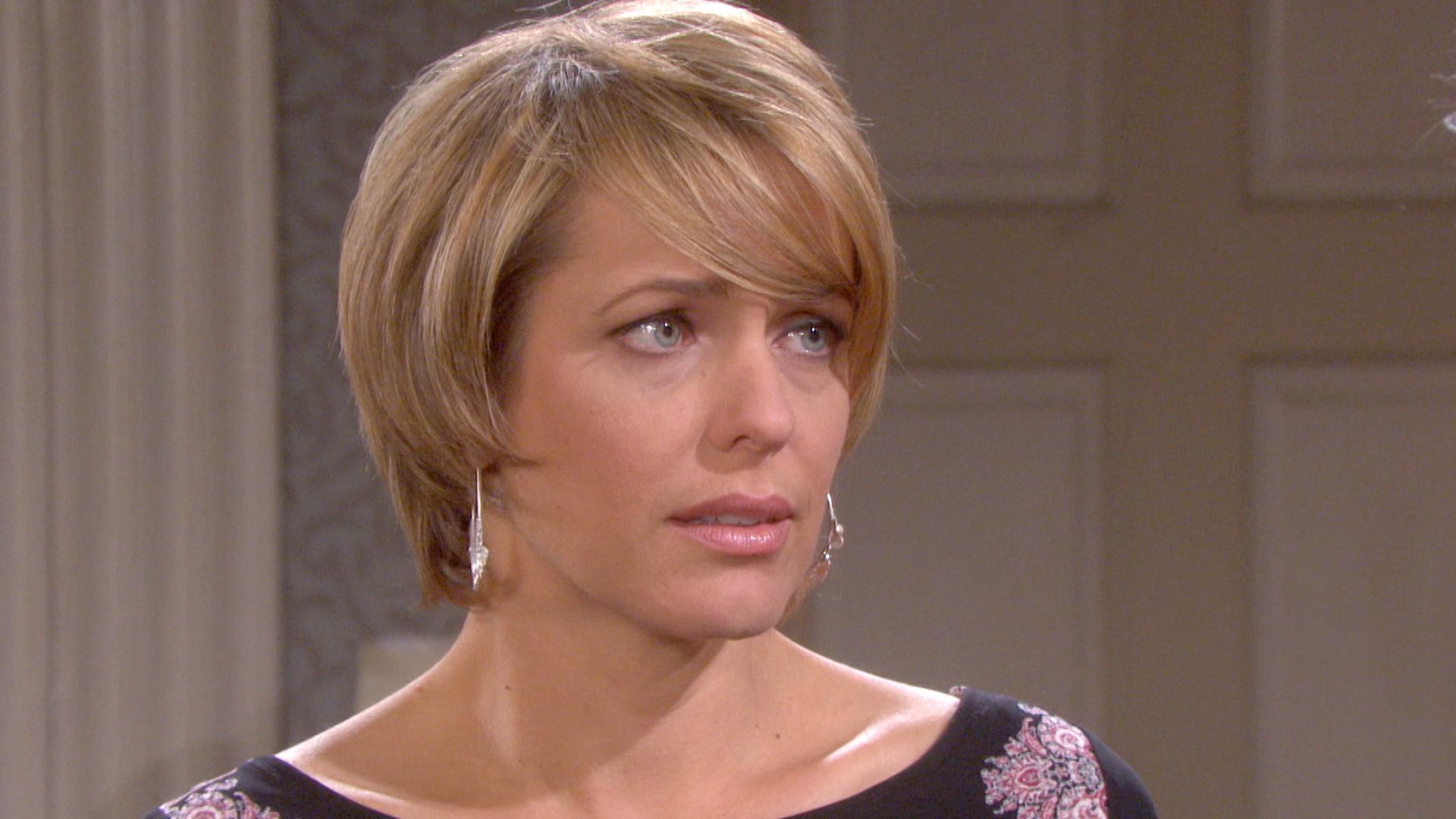 Nicole tells Eric an outrageous lie.