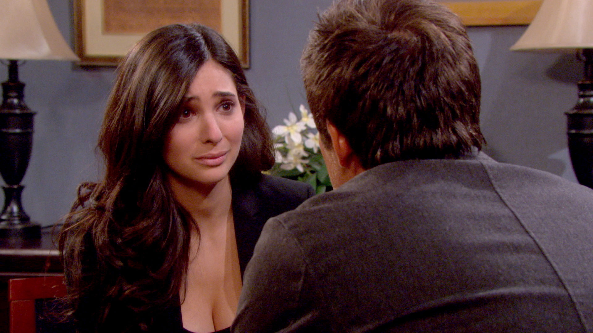 Gabi shares a tearful farewell with Rafe, Will and Sonny.