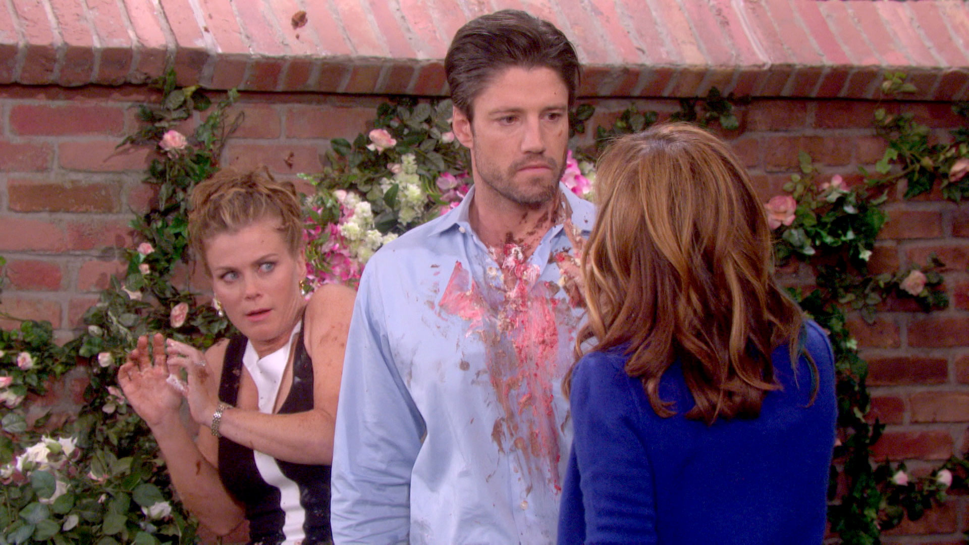 A major confrontation takes place at the DiMera mansion!