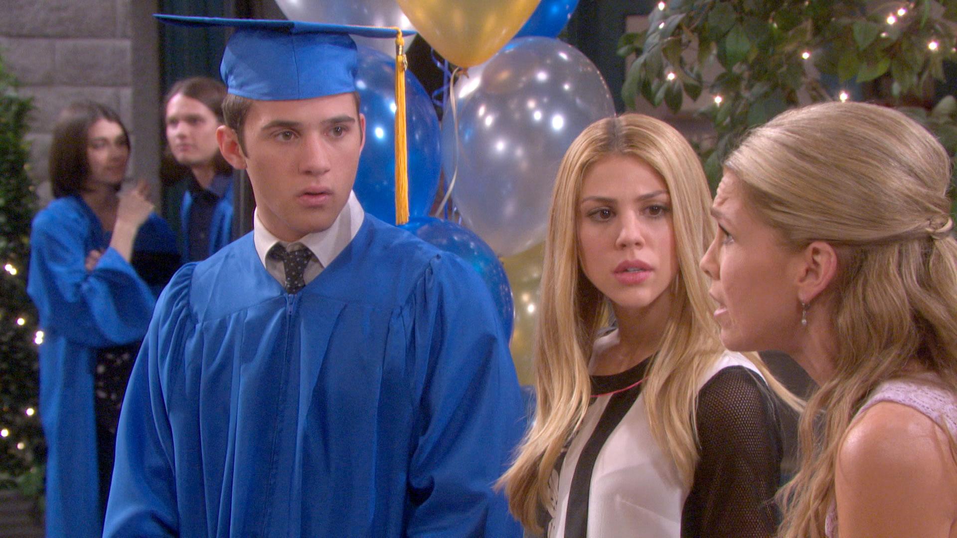 JJ's graduation day is marred by Eve's lawsuit against Jennifer.
