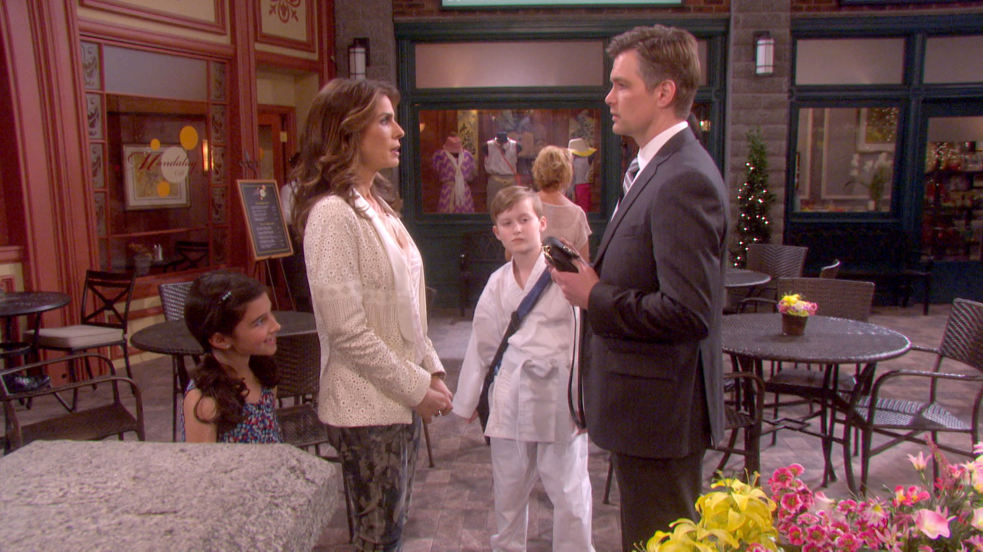 Hope is horrified when Ciara invites Aiden and Chase to join them on vacation.