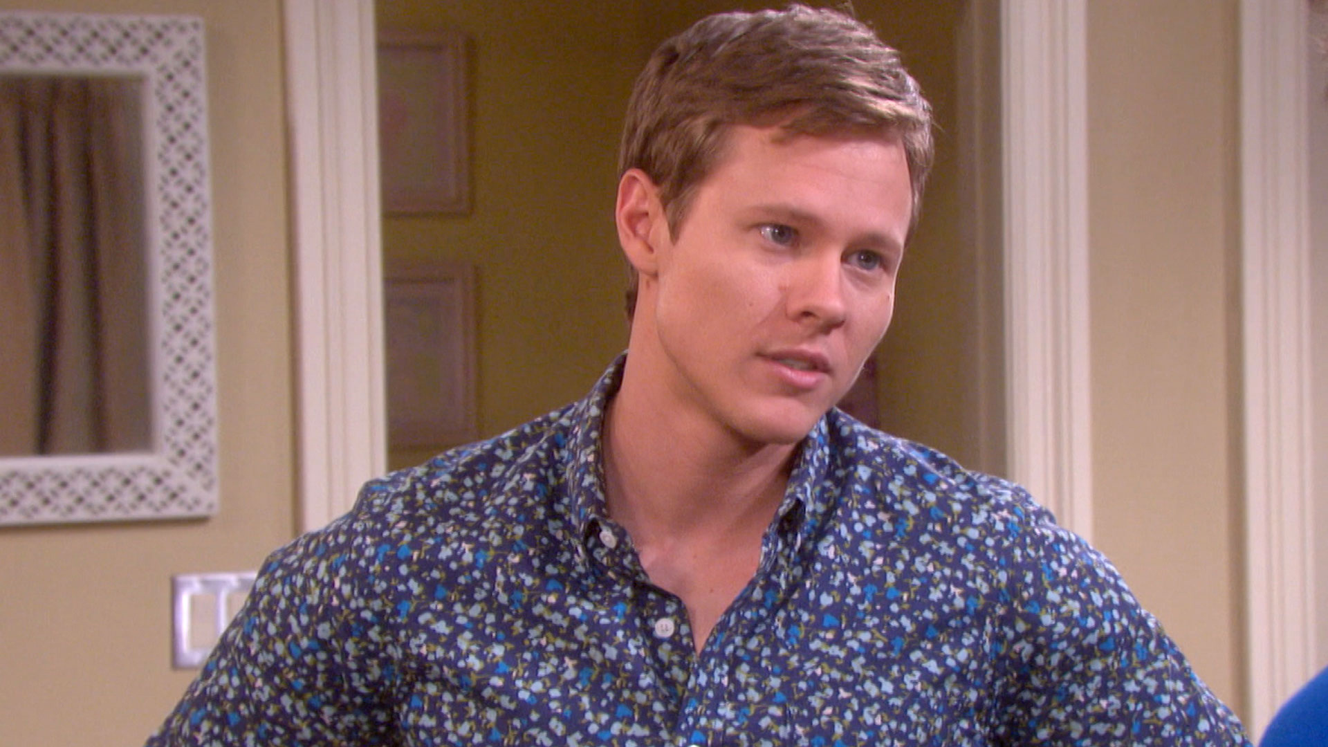 Sonny feels guilty about the secret he's keeping from Will.