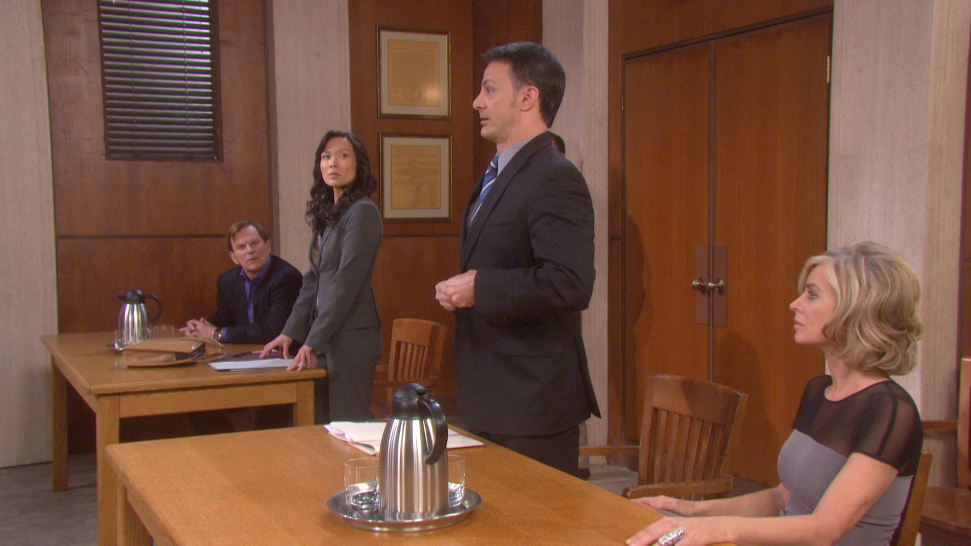 Kristen pulls off a miracle in court.
