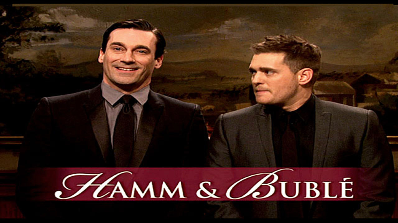 watch hamm bubl from saturday night live. Black Bedroom Furniture Sets. Home Design Ideas