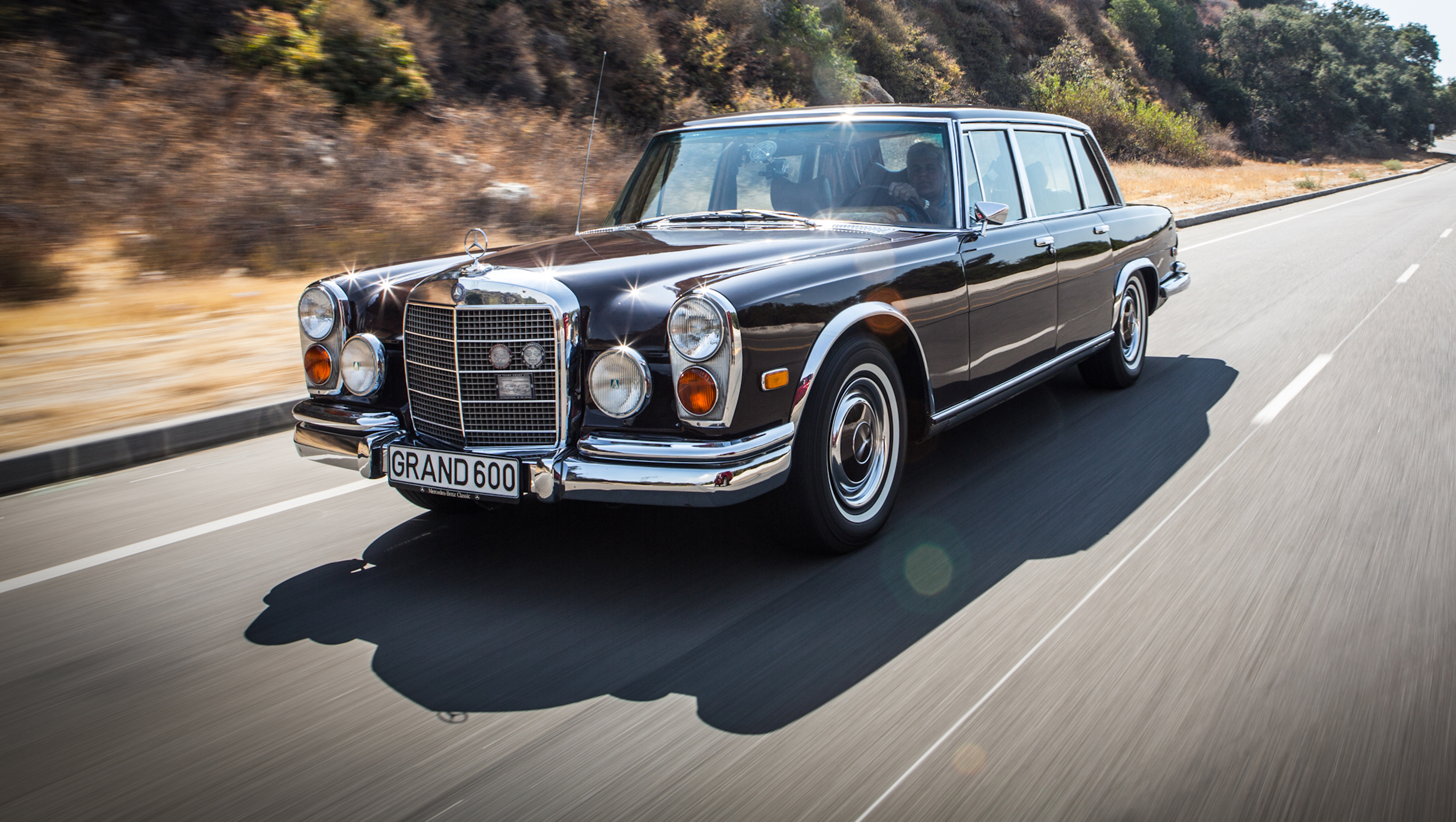 1972 mercedes benz 600 kompressor video jay leno 39 s