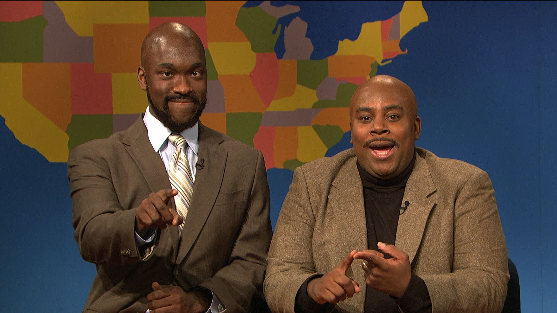 watch weekend update charles barkley and shaquille o 39 neal. Black Bedroom Furniture Sets. Home Design Ideas