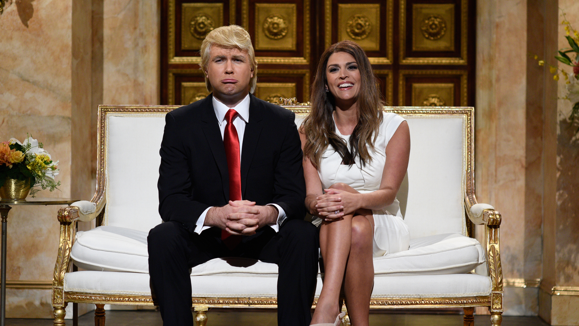 Watch Donald And Melania Trump Cold Open From Saturday