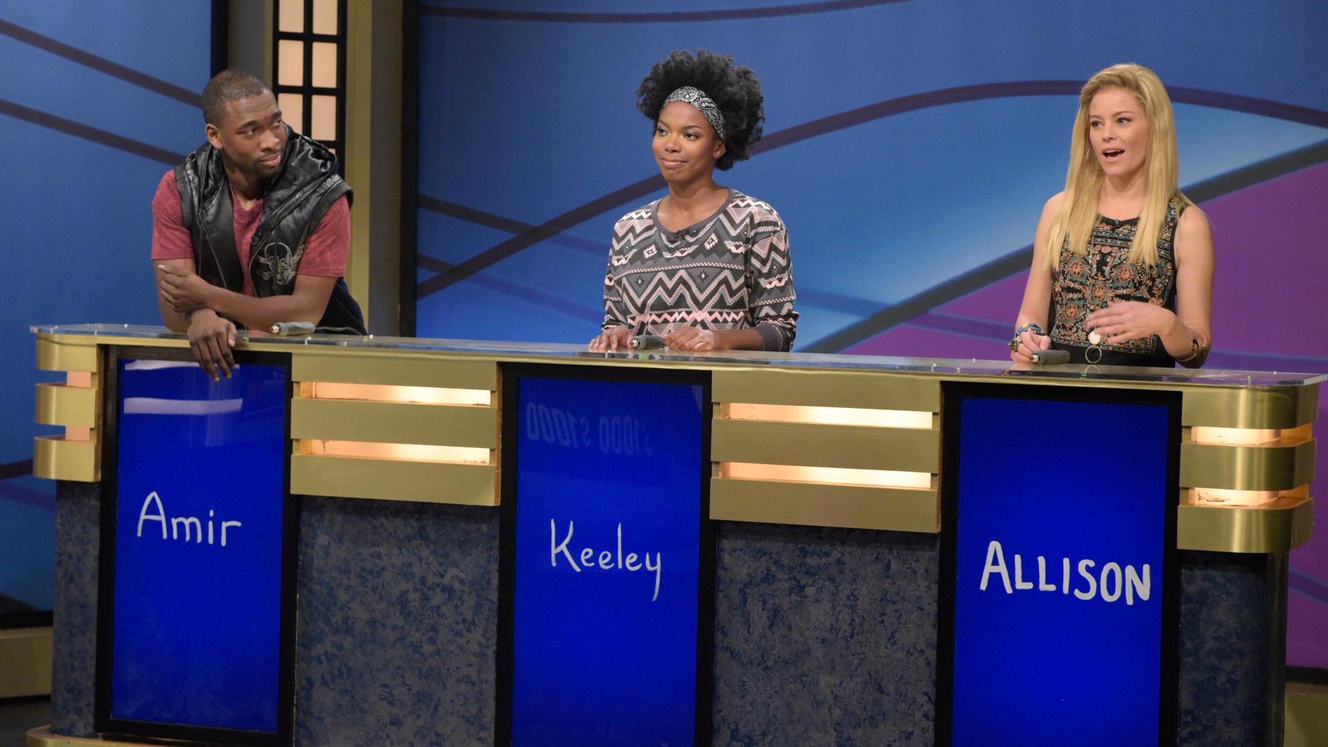 Watch Black Jeopardy with Elizabeth Banks From Saturday ...