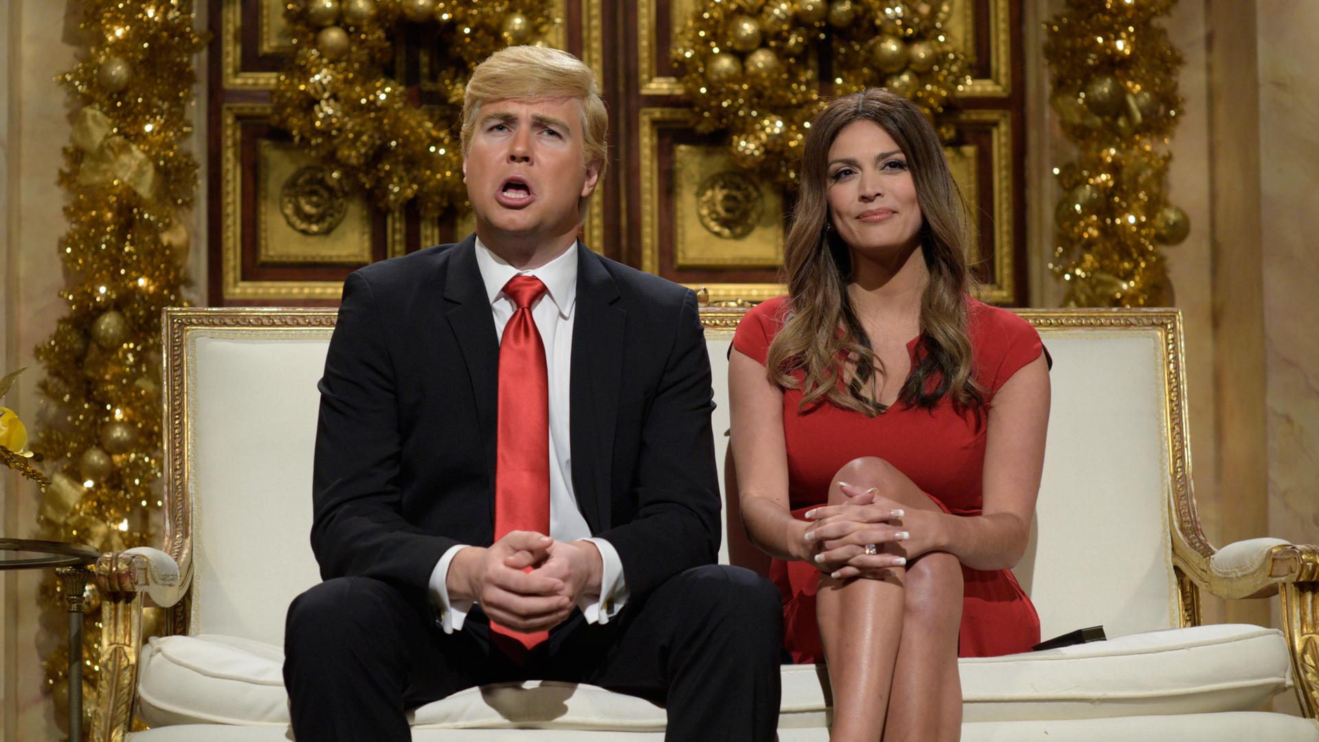 watch saturday night live highlight donald and melania trump christmas cold open nbccom - Saturday Night Live Christmas Song