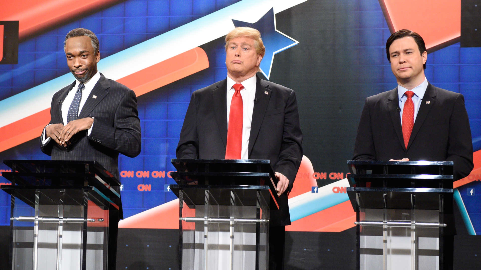 Watch Gop Debate Cold Open From Saturday Night Live Nbc Com