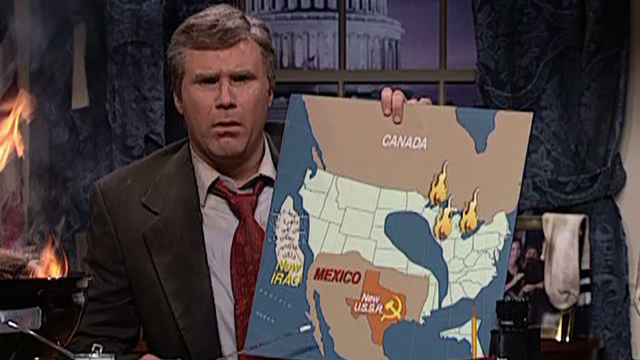 Will Ferrell on George Bush: No President Needs This