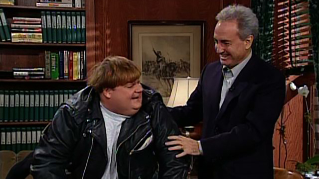 Watch Lorne S Got Hesitations About Letting Chris Farley